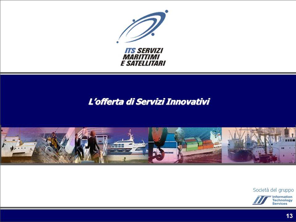 Società del gruppo 13 Lofferta di Servizi Innovativi