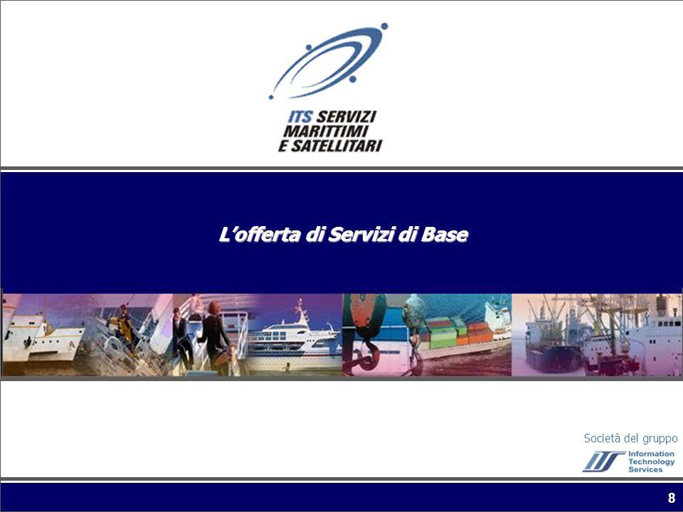 Società del gruppo 8 Lofferta di Servizi di Base