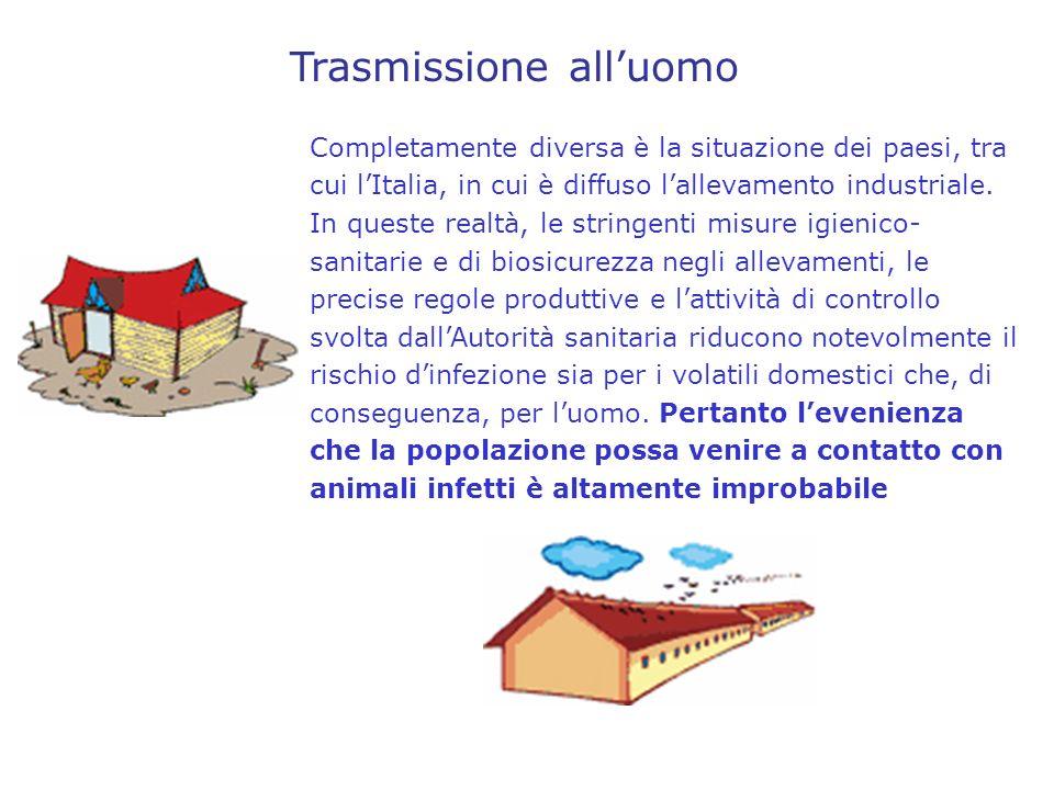In Italia le misure di sorveglianza e di controllo dellinfluenza aviaria messe in atto riguardano sia gli allevamenti avicoli che gli uccelli selvatici.