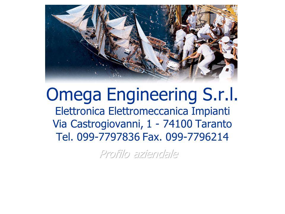 Realizzazioni Impianti di Climatizzazione Cliente: Anchor Shipping C.so due Mari Taranto Fornitura e installazione di n.° 5 Condizionatori Fujitsu Omega Engineering S.r.l.
