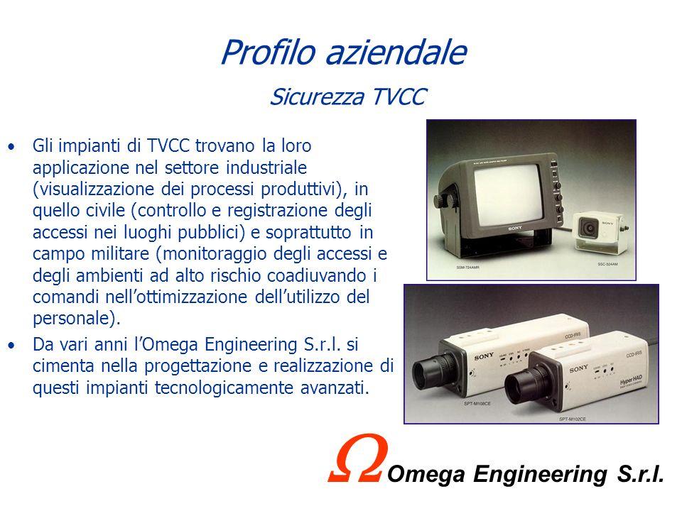 Sistema di videosorveglianza via telefono tra la base di S.Maria di Leuca (LE) e la Centrale Opeativa a Taranto Omega Engineering S.r.l. Profilo azien