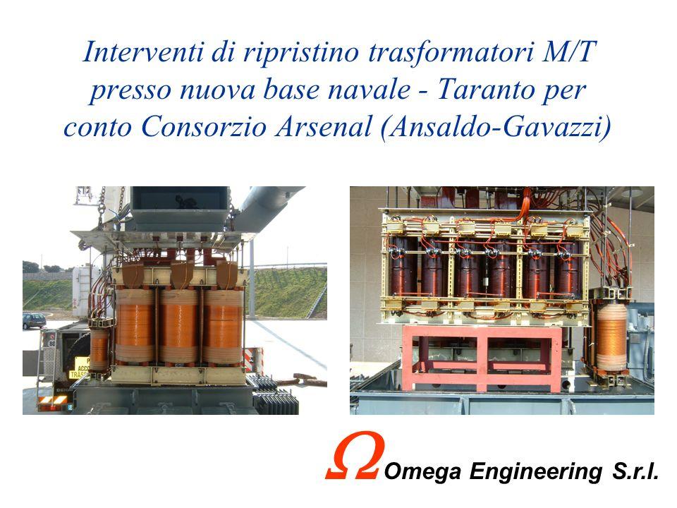 Realizzazioni Impianti di Climatizzazione Cliente: Anchor Shipping C.so due Mari Taranto Fornitura e installazione di n.° 5 Condizionatori Fujitsu Ome