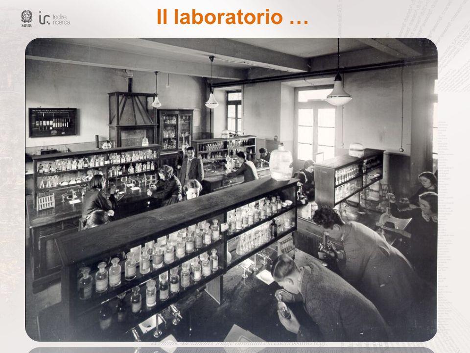 Il laboratorio …
