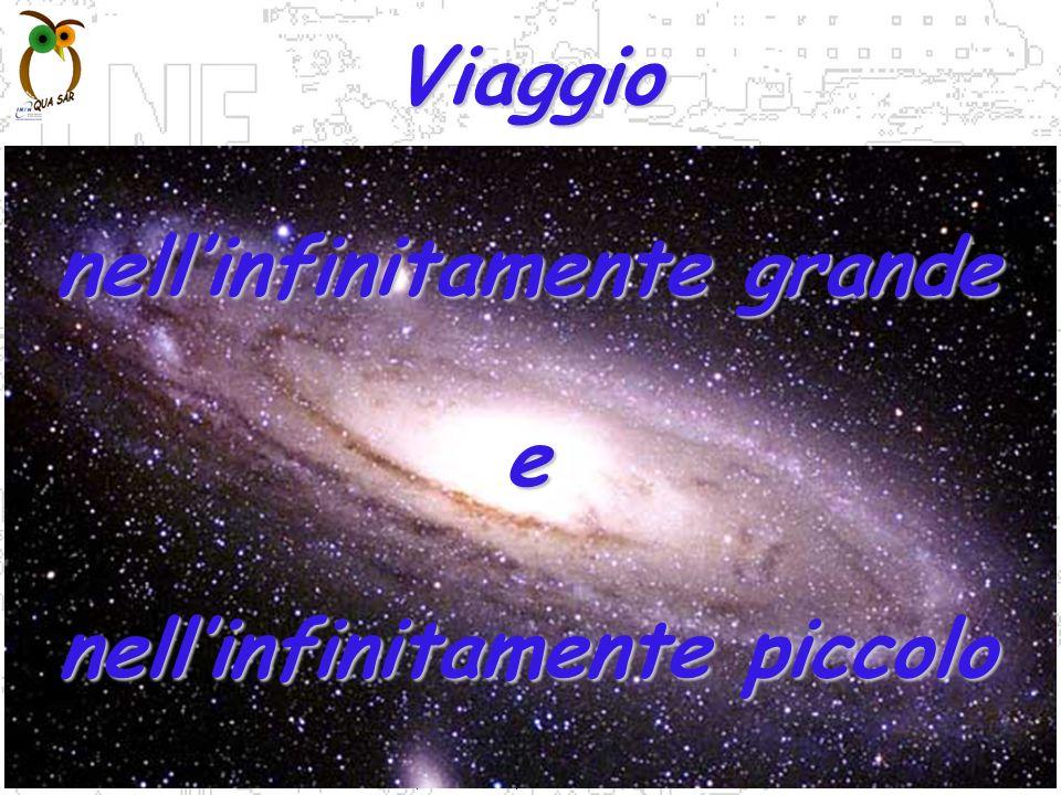 P.Gianotti, F.Murtas, B.Sciascia LNF-INFN Viaggio nellinfinitamente grande e nellinfinitamente piccolo