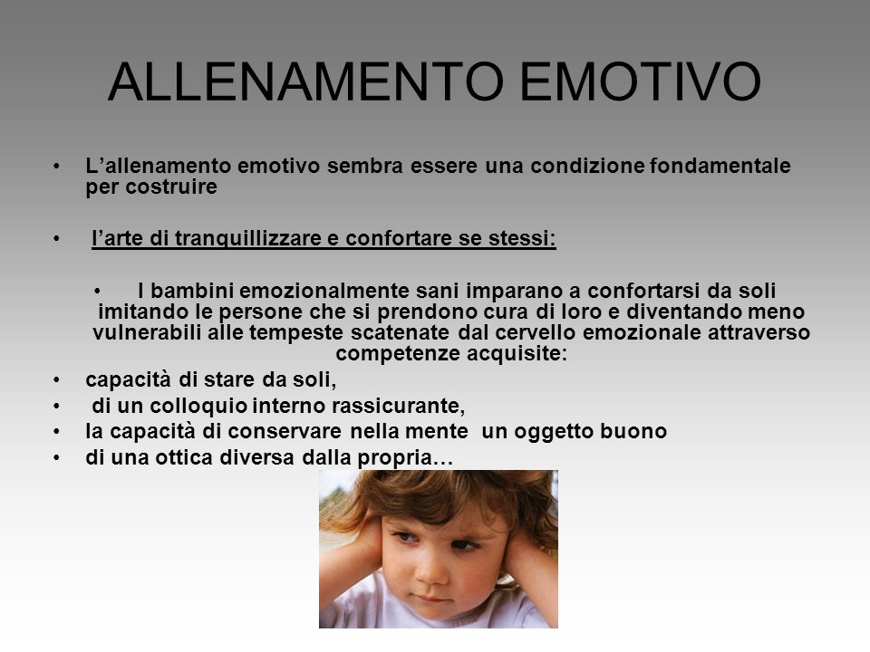 Ci sono diverse categorie di persone a seconda del modo in cui percepiscono e gestiscono le proprie emozioni: –Gli autoconsapevoli: il loro essere attenti alla propria vita interiore li aiuta a controllare le emozioni.