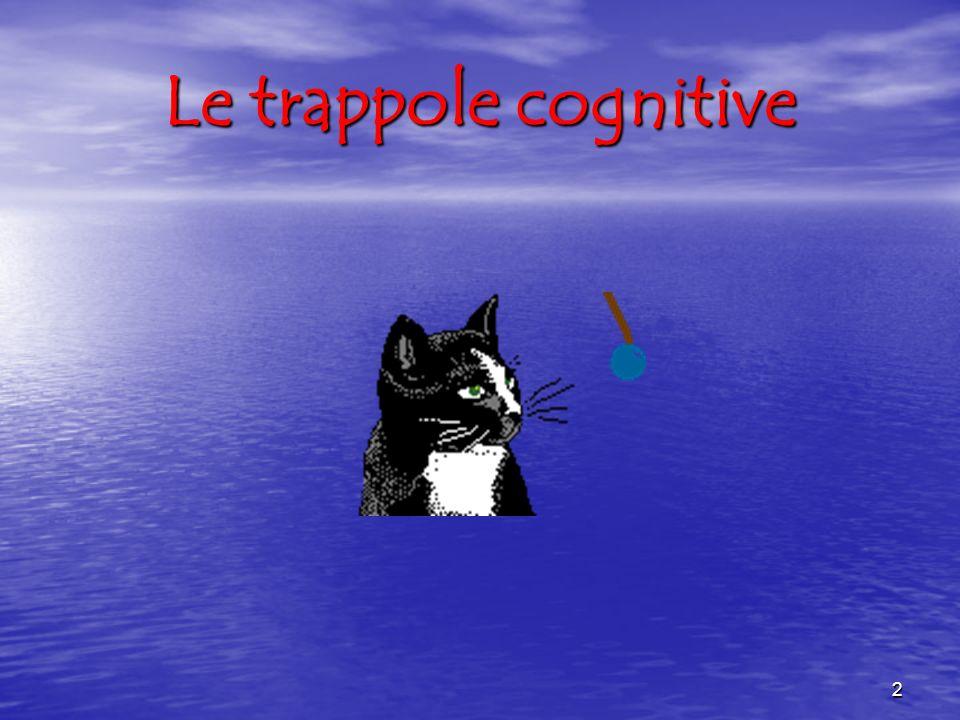 2 Le trappole cognitive
