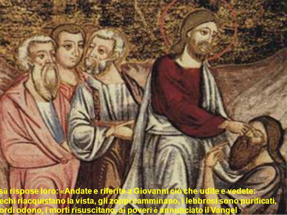 Lincertezza di Giovanni è il suo carcere più oscuro. È più facile riconoscere un Maestro potente, che non uno debole Scoprire Dio nel fretello debole
