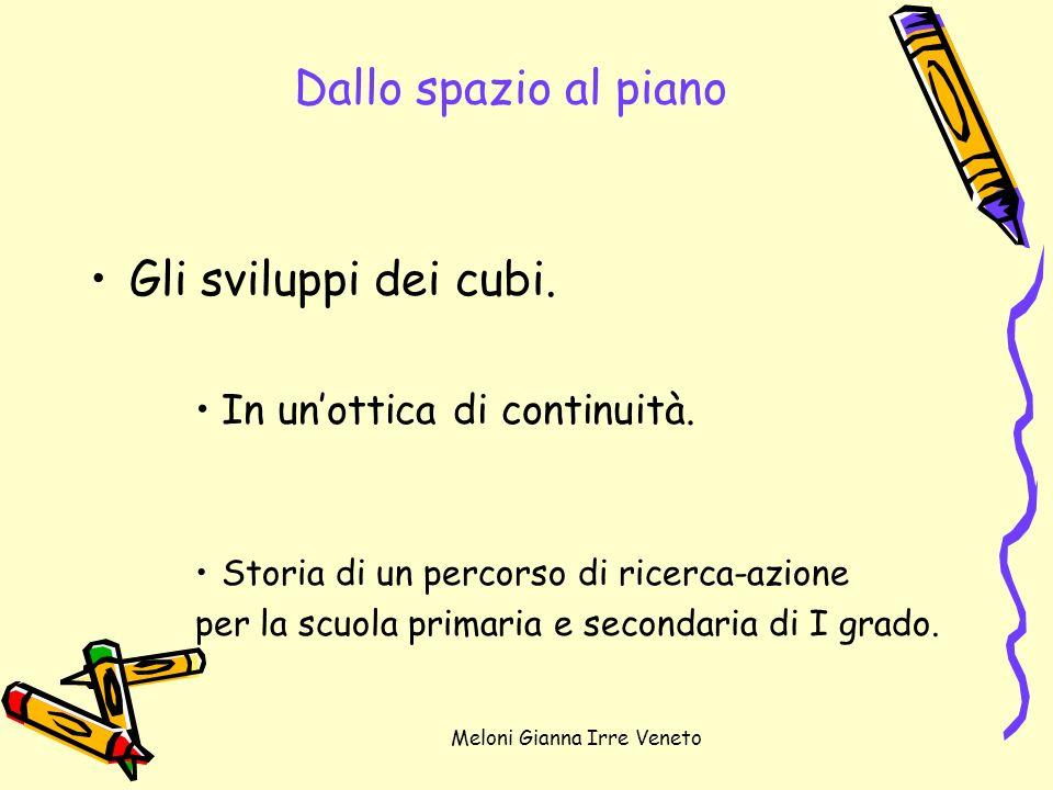 Meloni Gianna Irre Veneto Le fasi dellattività.