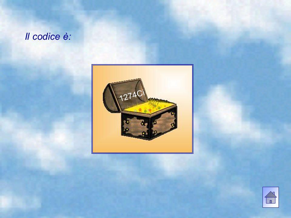 3) Quale genere di nube viene descritta nell'ultima frase del Diario? Il codice è dato dalla sequenza: numero risposta 1, numero risposta 2, sigla ris
