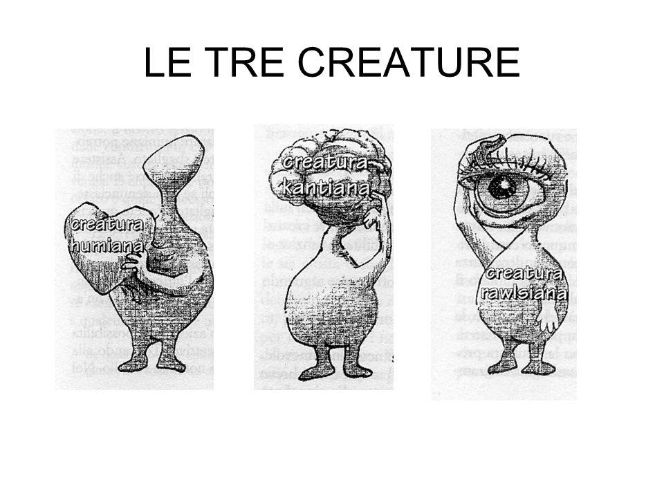 LE TRE CREATURE