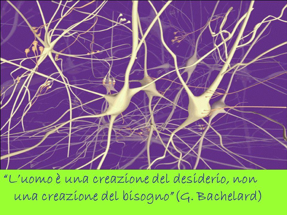 Luomo è una creazione del desiderio, non una creazione del bisogno(G. Bachelard)