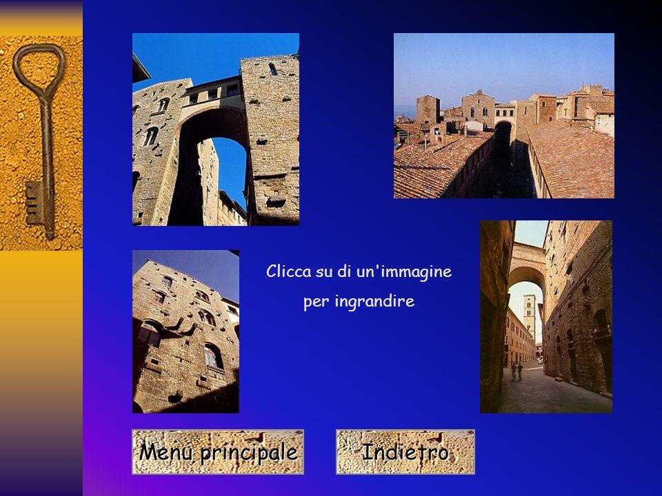 Menu principale Menu principale Indietro Clicca su di un immagine per ingrandire