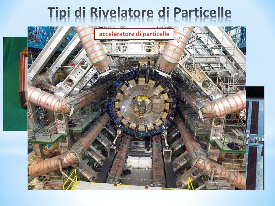radiazione cosmica decadimento nucleare acceleratore di particelle