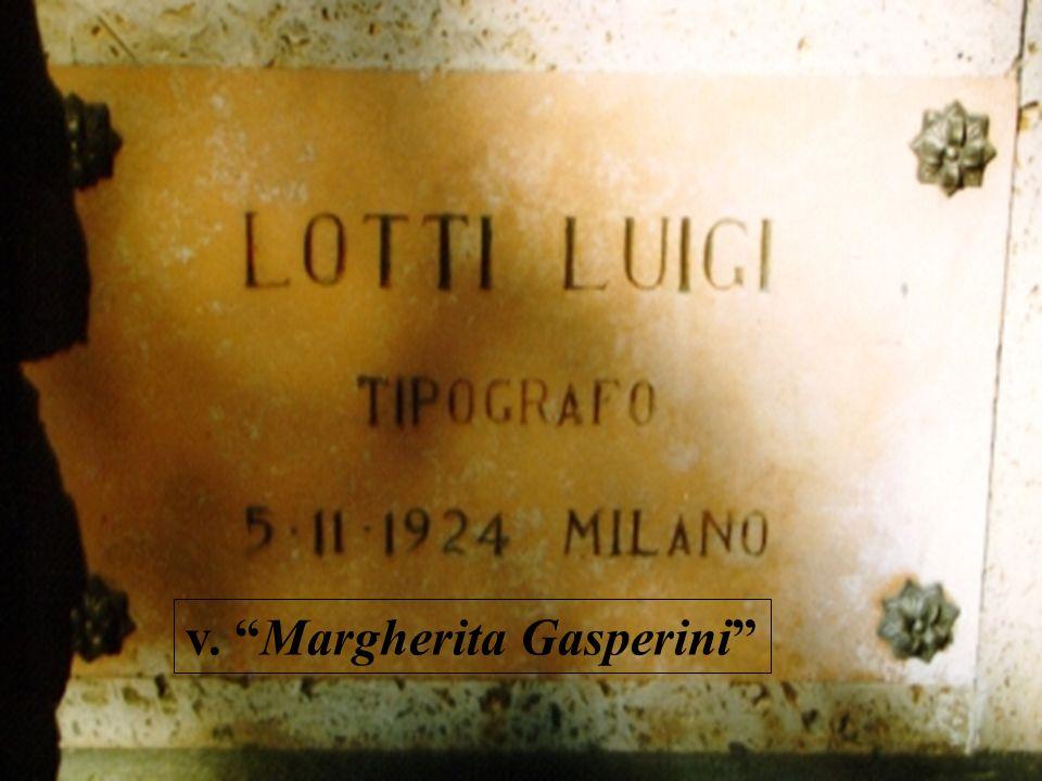v. Margherita Gasperini