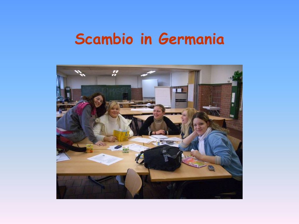 Scambio in Germania