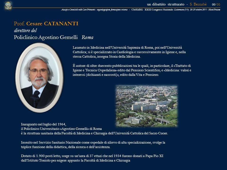 Acuzie e Cronicità nelle Cure Primarie : organizzazione, formazione e ricerca - CSeRMEG XXIII Congresso Nazionale Costermano (Vr) 28-29 ottobre 2011 -