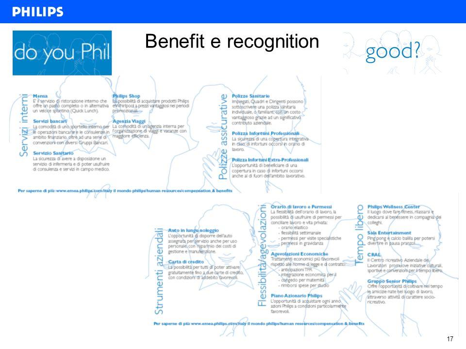 17 Benefit e recognition
