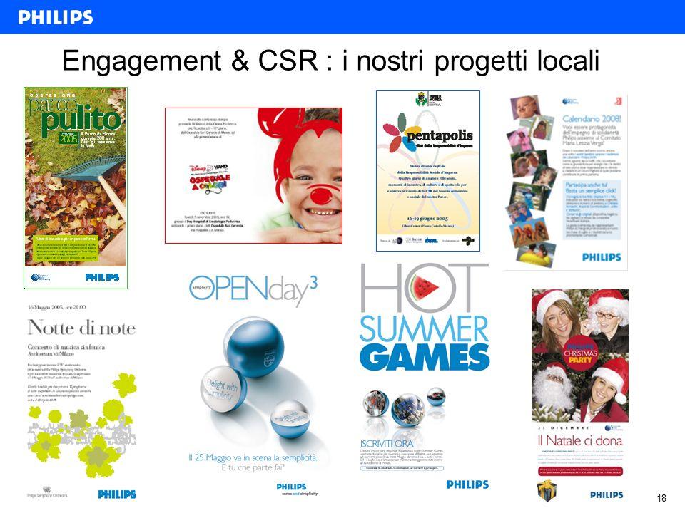 18 Engagement & CSR : i nostri progetti locali