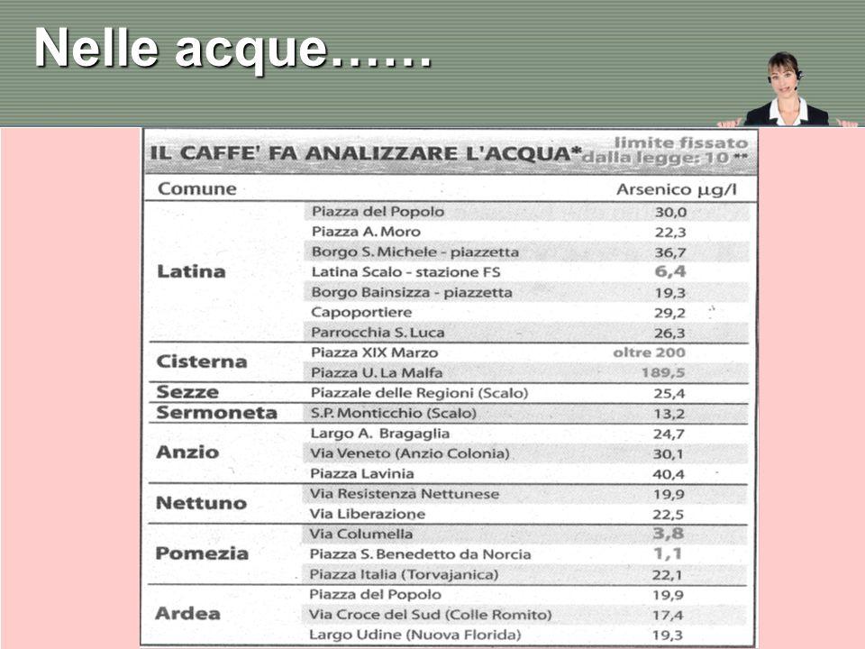 I rimedi per il nostro rubinetto Rotary Club Roma Castelli Romani Rotary International Distretto 2080 19 Maggio 2012