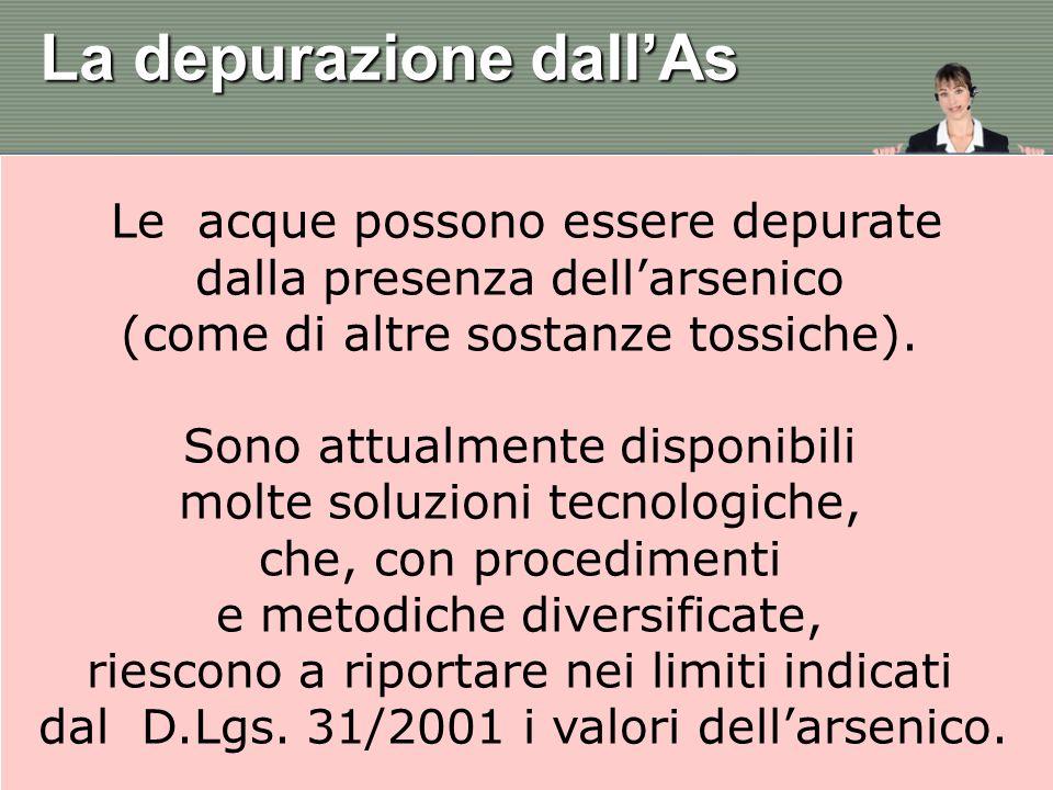 Le metodiche più utilizzate sono: - la precipitazione, - i processi a membrana, - i processi di adsorbimento, - la rimozione biologica, - i processi a scambio ionico.