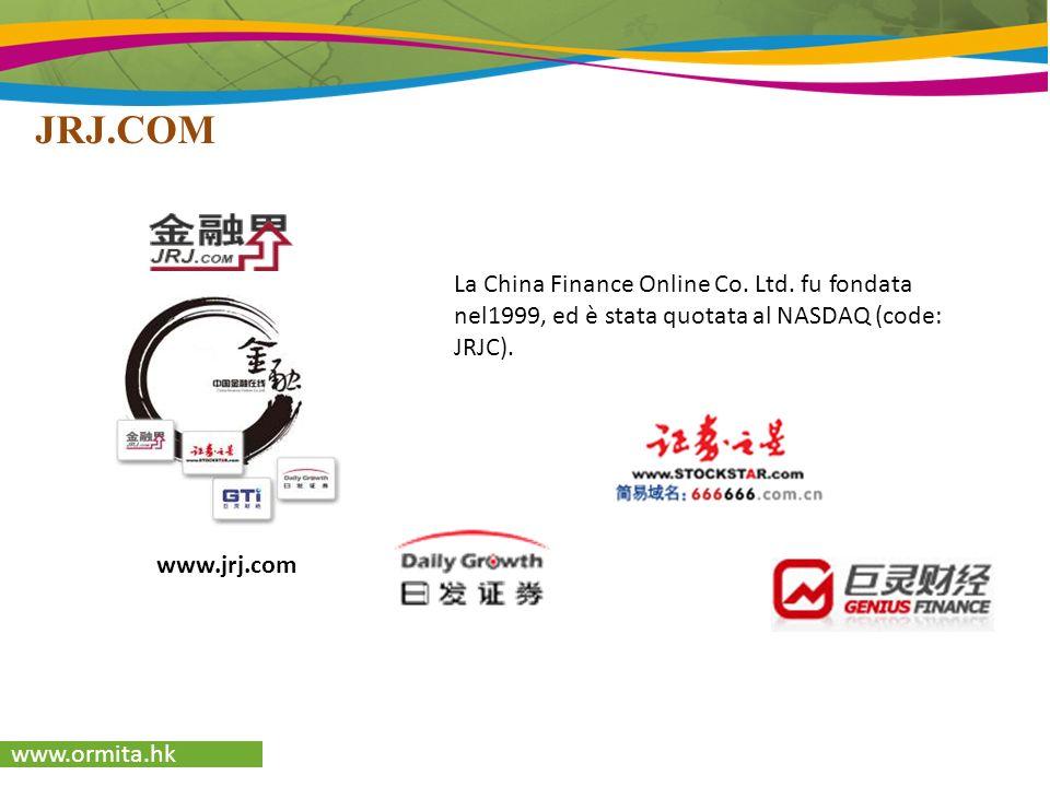 www.ormita.hk www.518ad.comwww.yule.com.cn La più grande rete B2B del Sud della Cina On-line marketing Brand building Soluzioni per le PMI Rete dIntrattenimento Rapidità, aggiornamenti, fatti 500.000 click/giorno