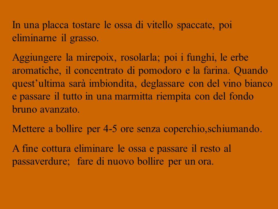 Salsa Alemanna o Parigina Roux biondo (50 gr.di farina e 60 gr.