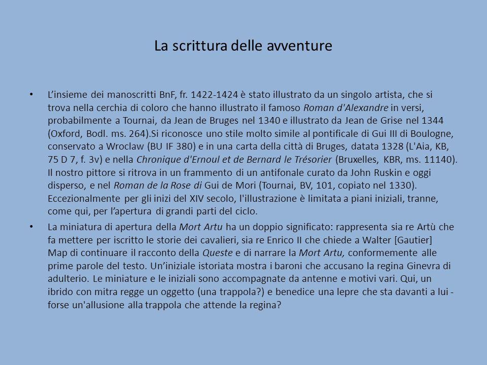 La scrittura delle avventure Linsieme dei manoscritti BnF, fr.