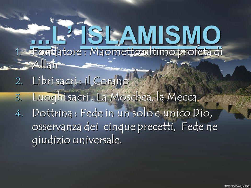 L Ebraismo L EbraismoEbraismo 1.Religione Rivelata 2.