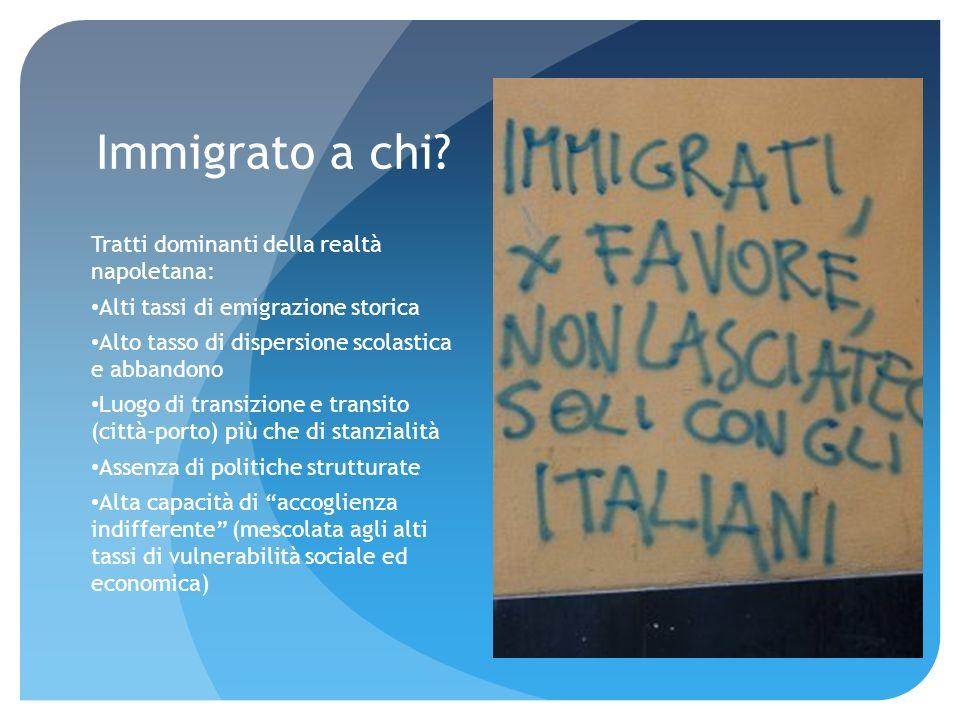 Immigrato a chi.