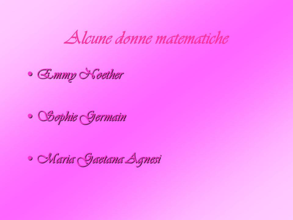 Fino alla seconda metà del Novecento, pochissime donne hanno avuto accesso al sapere matematico, spesso si è trattato di figure anomale e quasi sempre sono state oggetto di derisione e di implacabile sottovalutazione; secondo Hermann Weyll solo due donne sono state matematiche nella storia, Sofja Kovalevskaja ed Emmy Noether: la prima non era una matematica e la seconda non era una donna.