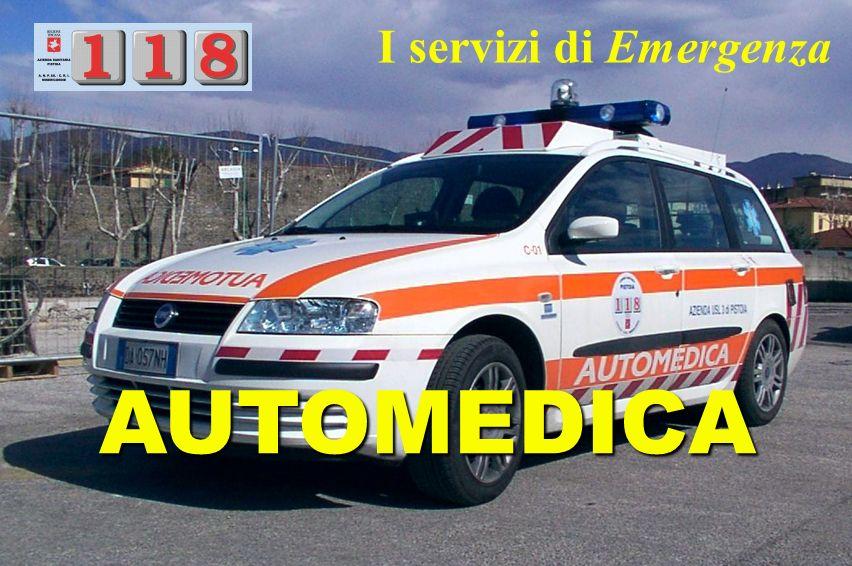 I servizi di Emergenza AUTOMEDICA