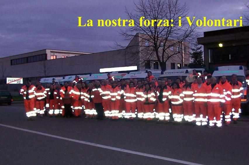 La nostra forza: i Volontari