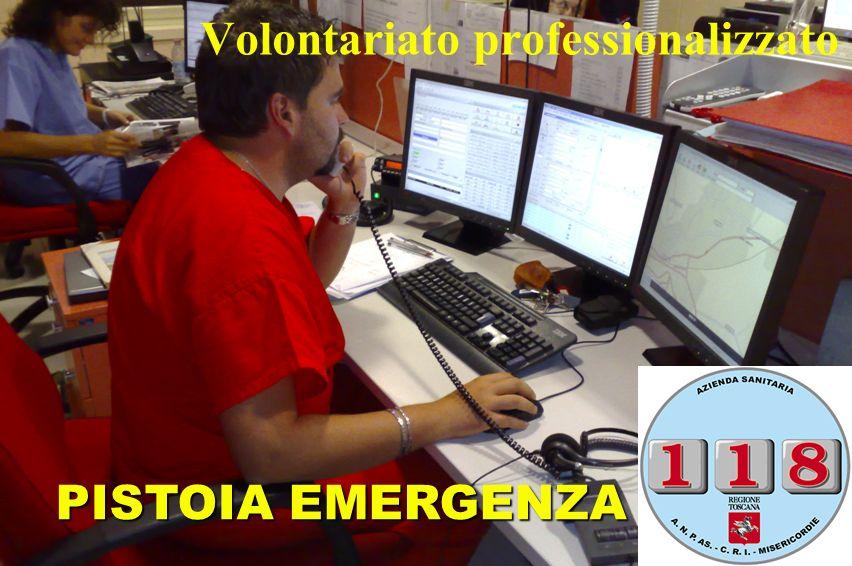 Volontariato professionalizzato PISTOIA EMERGENZA 1-1-8