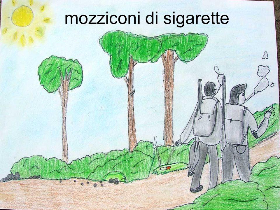 mozziconi di sigarette