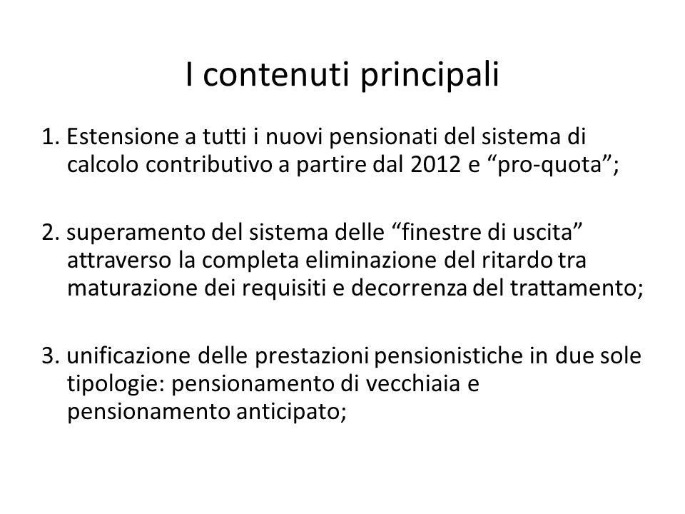 Ferrera, Le politiche sociali, Il Mulino, 2012 Capitolo II. La politica pensionistica I contenuti principali 1. Estensione a tutti i nuovi pensionati
