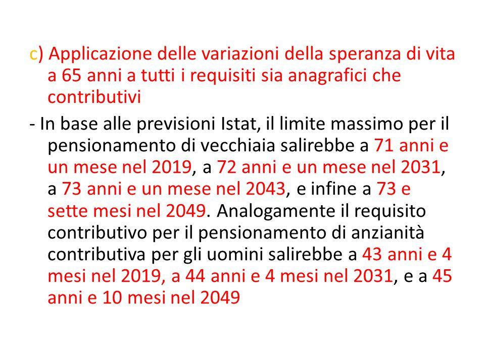 Ferrera, Le politiche sociali, Il Mulino, 2012 Capitolo II. La politica pensionistica c) Applicazione delle variazioni della speranza di vita a 65 ann