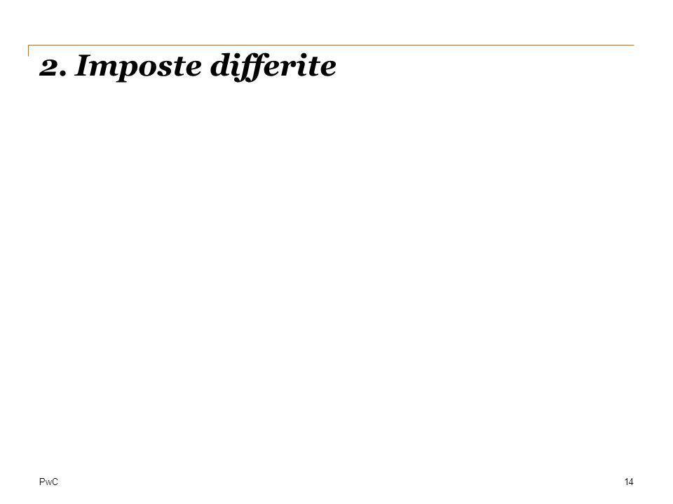 PwC 2. Imposte differite 14