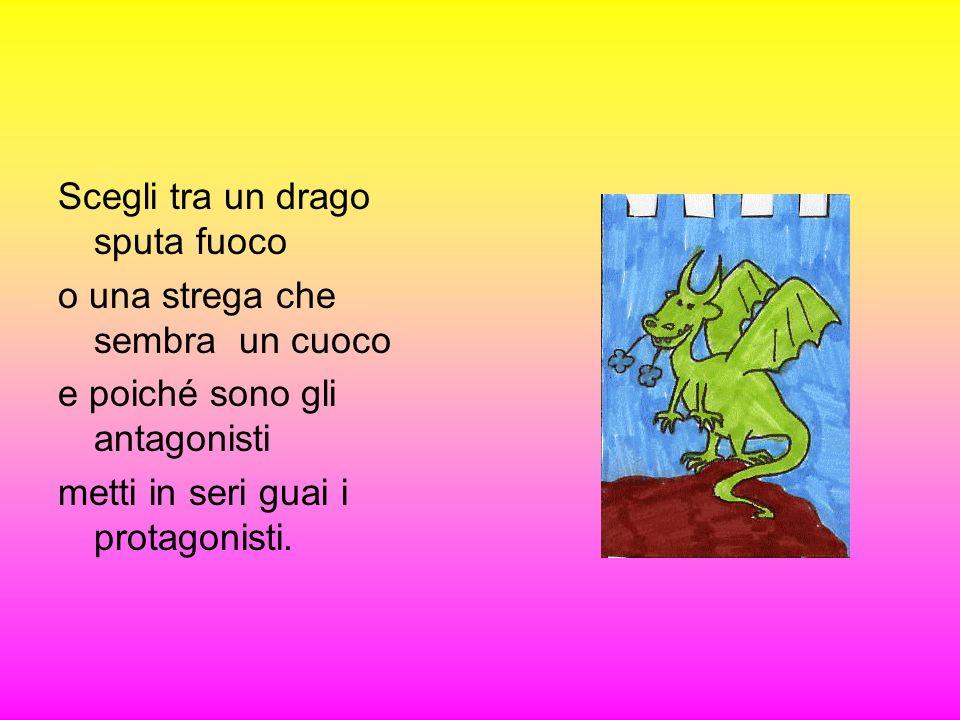 … Dal buio di una caverna sbucò fuori una creatura orribile:il Troll.