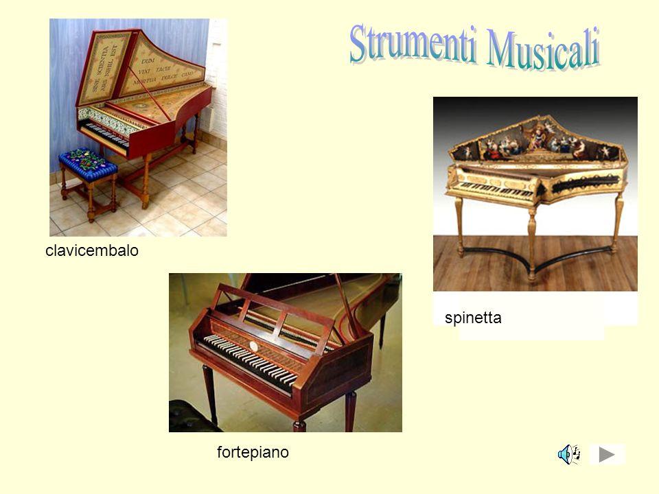 clavicembalo spinetta fortepiano