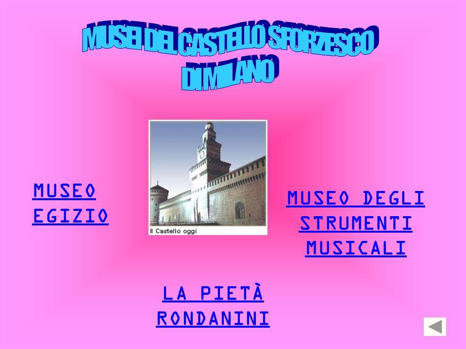 MUSEO EGIZIO MUSEO DEGLI STRUMENTI MUSICALI LA PIETÀ RONDANINI