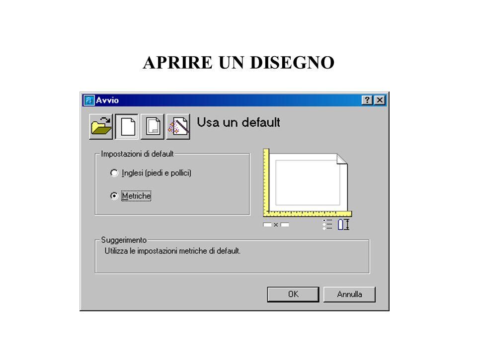 USO DI UN MODELLO A4_verticale:limiti (0,0) (210,297) Squadratura 10,10) (200,287) Layer corrente: Disegno Colore: DaLayer Tipolinea: Da Layer