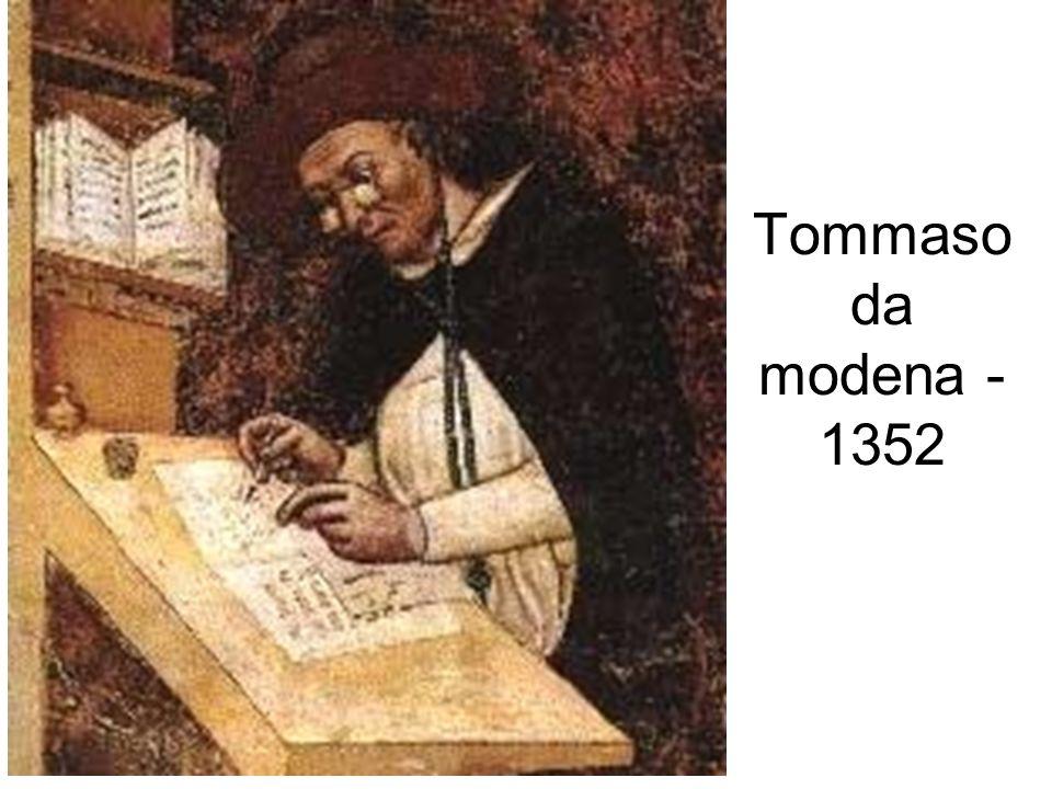 Tommaso da modena - 1352