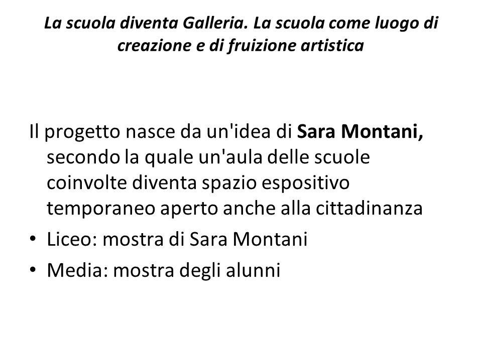 Un esperienza simile, ma per altri aspetti diversa, è stata recentemente concretizzata presso la Direzione Didattica Cesare Battisti, Plesso Palmieri di Milano, in cui è stata inaugurata la Galleria delle Lavagne.