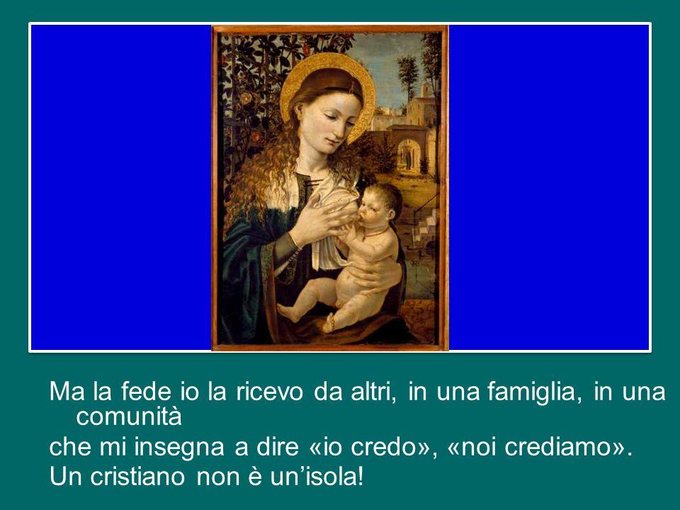 La Chiesa e la Vergine Maria sono mamme, ambedue; quello che si dice della Chiesa si può dire anche della Madonna e quello che si dice della Madonna si può dire anche della Chiesa.