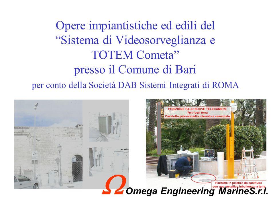 Fornitura e installazione di n°1 Sistema di Conversione 60/400Hz Nave GARIBALDI Omega Engineering MarineS.r.l.