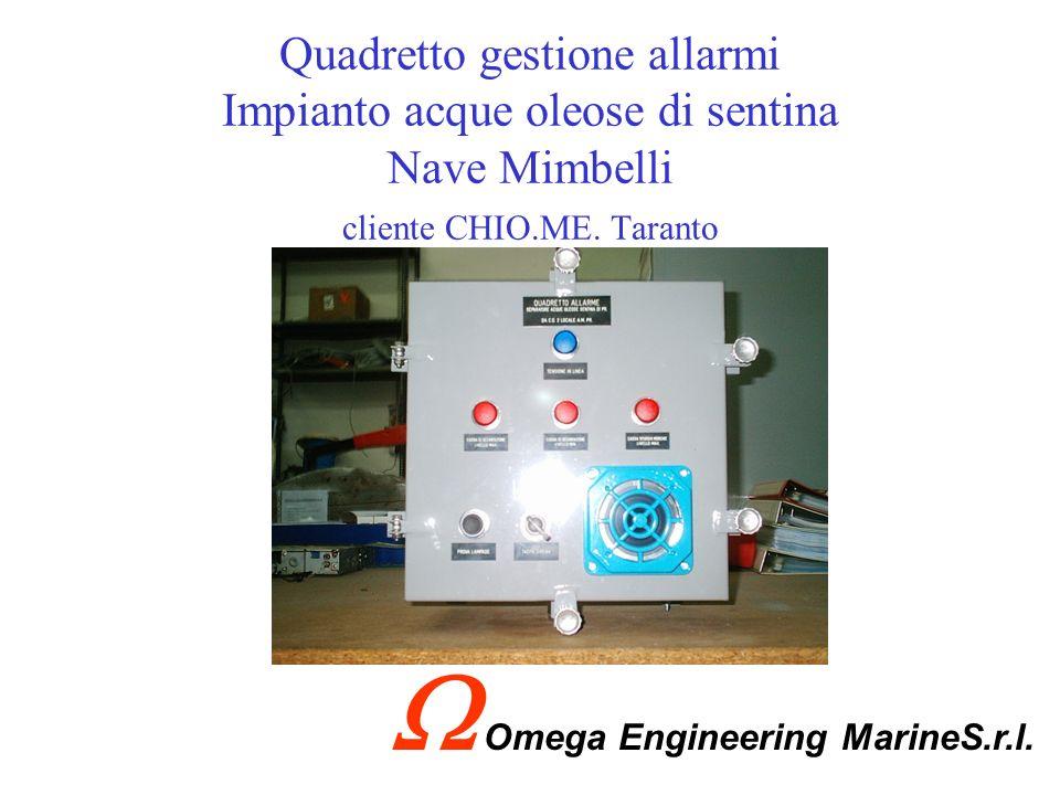 Trasformatore trifase 440/380V 3F+N 20KVA M.M.I. Nave Mimbelli cliente TCM Taranto Omega Engineering MarineS.r.l.