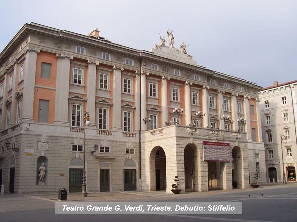 Teatro Apollo di Roma, destrutto in seguito alle costruzione dei muraglioni del Tebere Debutto: Un ballo in maschera.