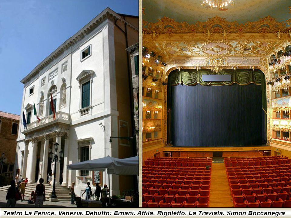 Teatro Grande G. Verdi, Trieste. Debutto: Stiffelio