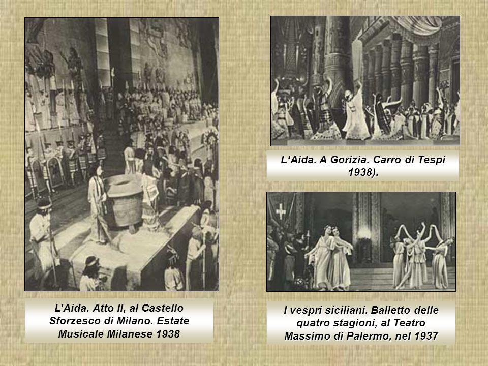 Giuseppe Verdi e i principali interpreti dellAida al teatro delle Muse di Ancona Francesco Tamagno nella scena finale dellOtello