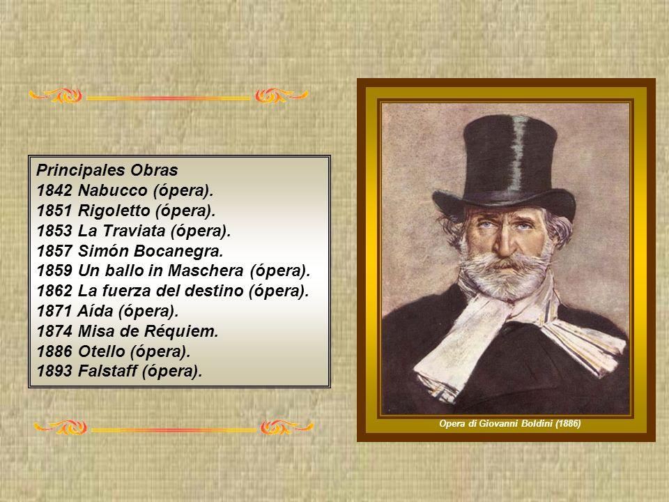 Cronología 1813 Nació el 10 de octubre en Le Roncóle.